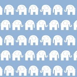 baumwolle baumwollstoff meterware dekostoff kinderstoff elefanten grau 0,5 lfm