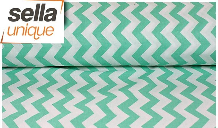 baumwollstoff 100 meterware 0 5 lfm 1 6m breit chevron. Black Bedroom Furniture Sets. Home Design Ideas