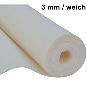 filz taschenfilz basteln 0 5lfm meterware 3mm stark 1 5m breit weich cru beige ebay. Black Bedroom Furniture Sets. Home Design Ideas